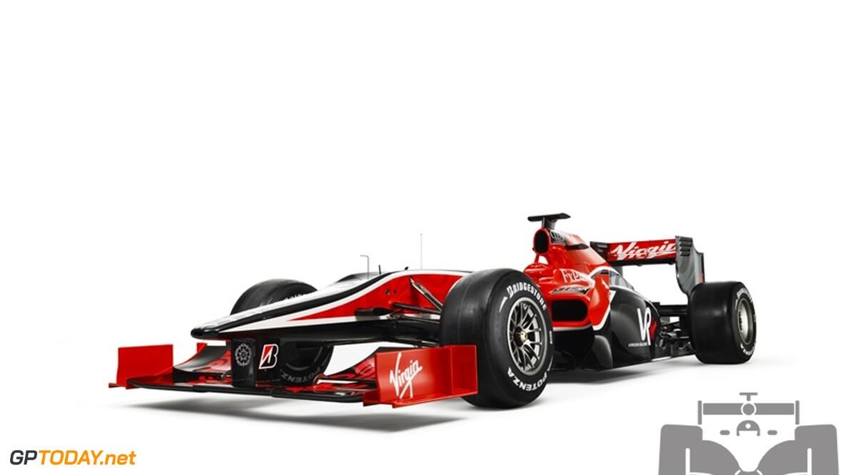Wagen Virgin Racing doorstaat verplichte crashtest