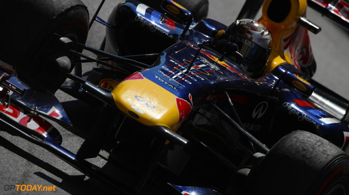 Red Bull Racing blijft domineren, Vettel pakt zevende pole van het seizoen