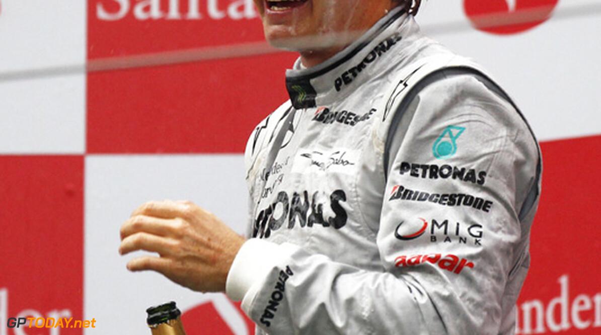 """Rosberg: """"Mercedes nog niet in de positie om te winnen"""""""
