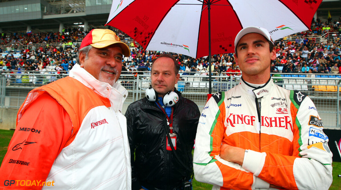 """Sutil: """"Mijn toekomst ligt waarschijnlijk bij Force India"""""""
