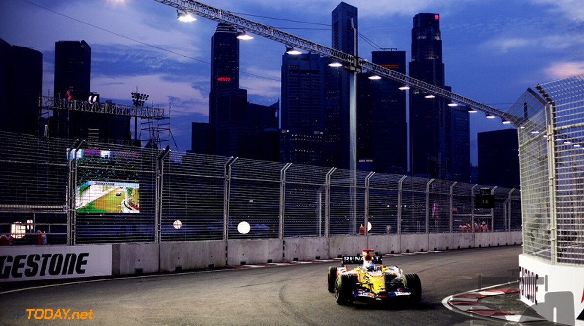 VT3: Renault en Alonso in uitstekende vorm