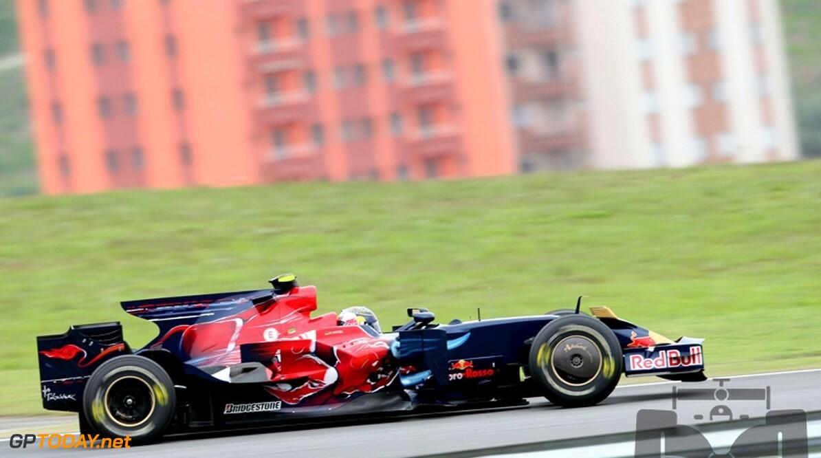 Toro Rosso met beide auto's in top tien