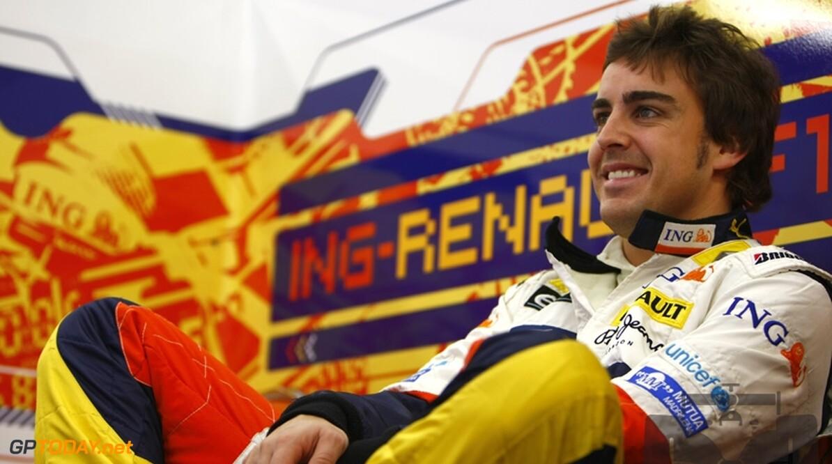 """Alonso: """"Nu zonder geluk gewonnen, fantastisch!"""""""
