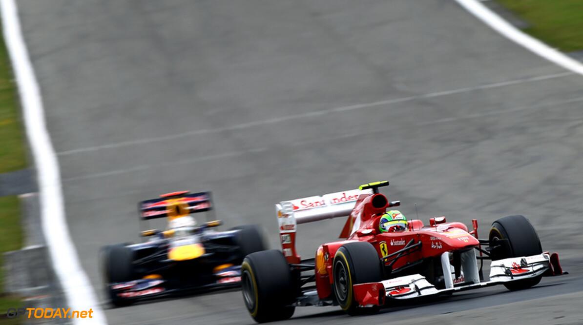 Massa voorspelt dat dominantie van Red Bull Racing voorbij is