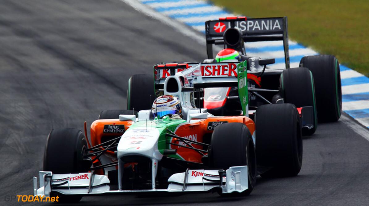Force India laat teleurstellende Duitse Grand Prix achter zich