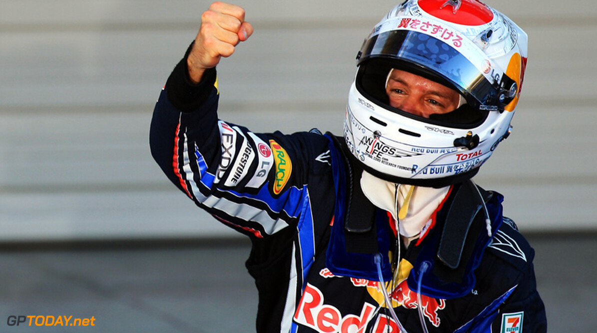 Sebastian Vettel verslaat Webber voor eerste pole in Korea