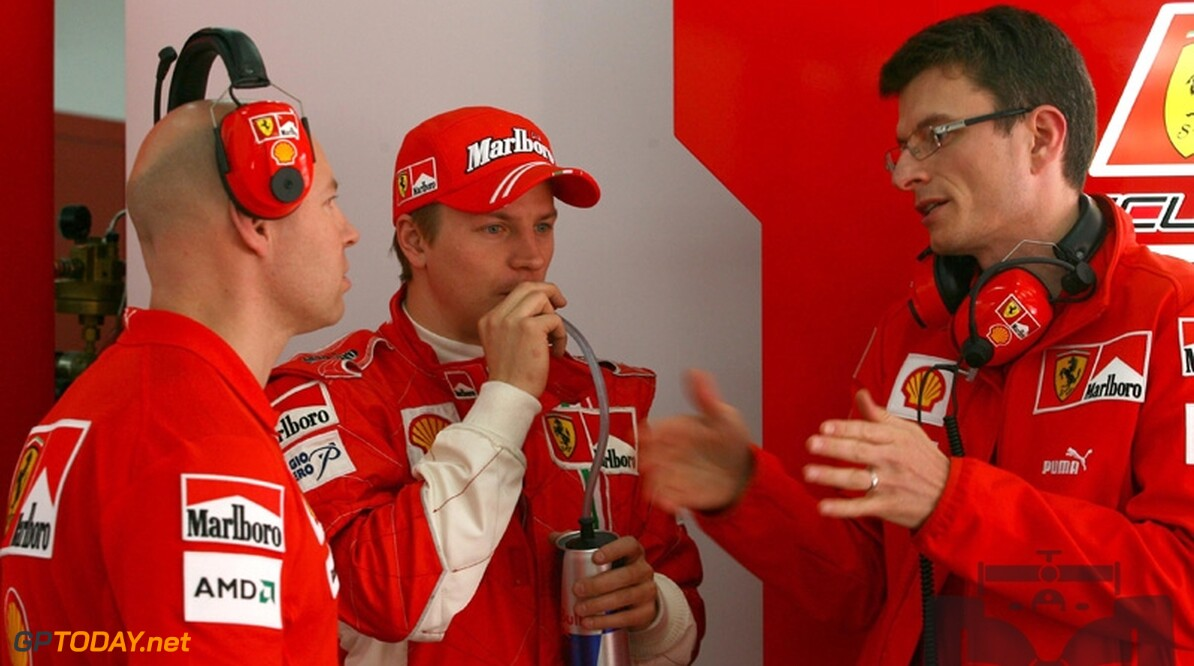 Kimi Raikkonen krijgt nieuwe race-engineer voor 2009