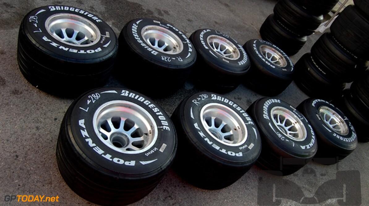Bridgestone officieel enige bandenleverancier tot en met 2010