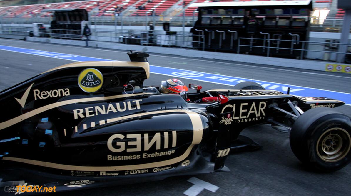 Lotus deze week niet meer in actie vanwege chassisproblemen