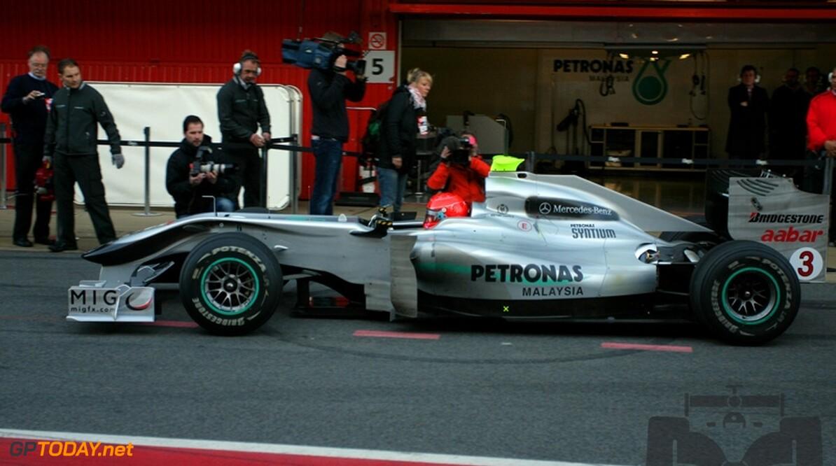 Mercedes GP betaalt Schumacher 21 miljoen euro per jaar