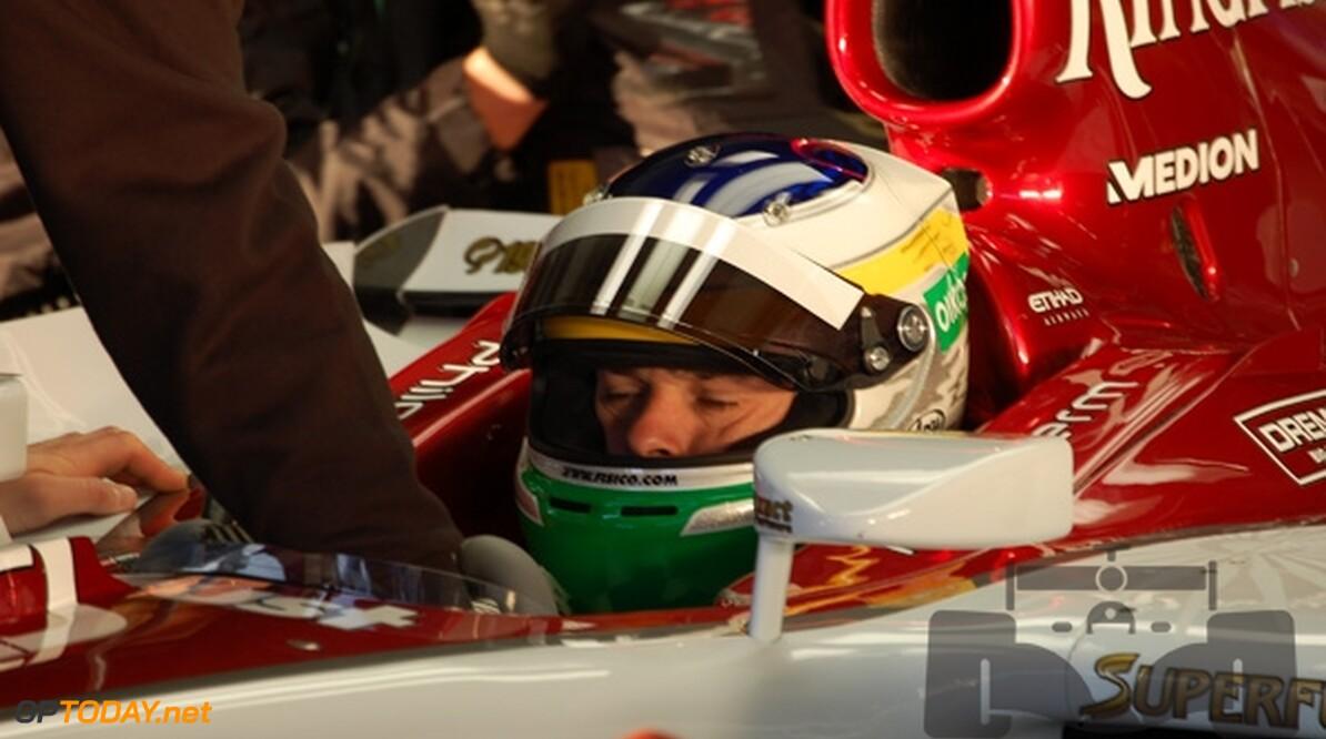 Fisichella rijdt eerste ronden voor Force India