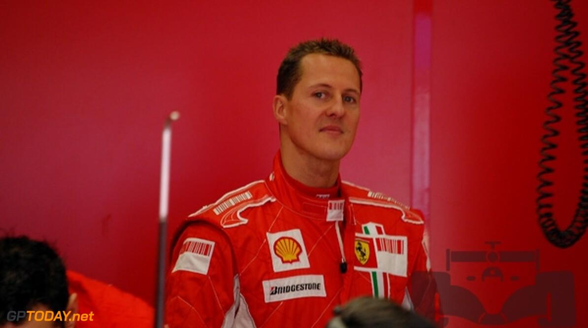 """Schumacher over Vettel: """"Ik geniet van hem"""""""