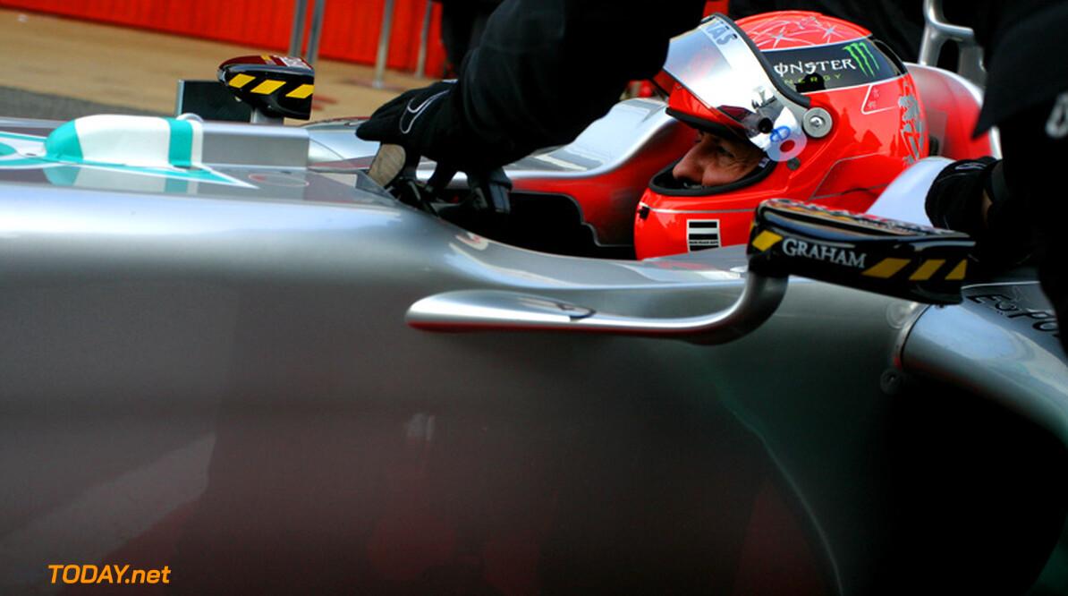 """Schumacher: """"Met deze auto kan ik voor topklasseringen gaan"""""""