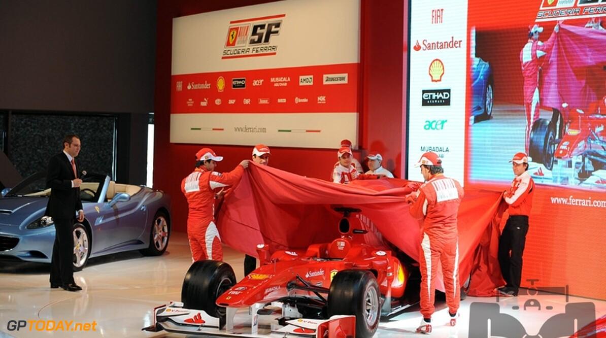 Ferrari presenteert bolide voor 2011 in week voor eerste test