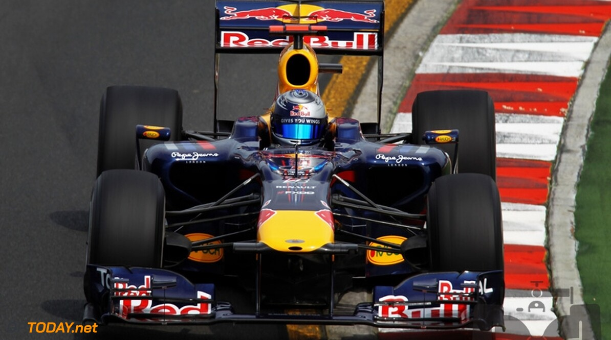 VT2: Vettel als enige onder 1:20, crash van Hülkenberg
