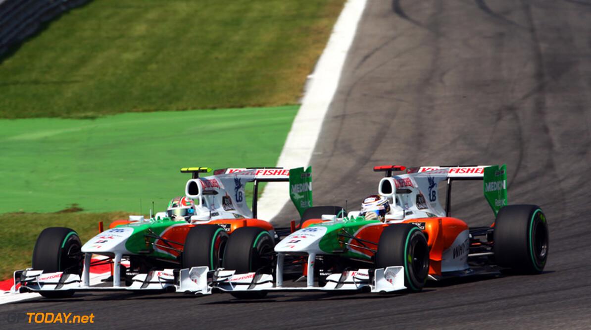 Force India kent teleurstellende kwalificatie in Zuid-Korea