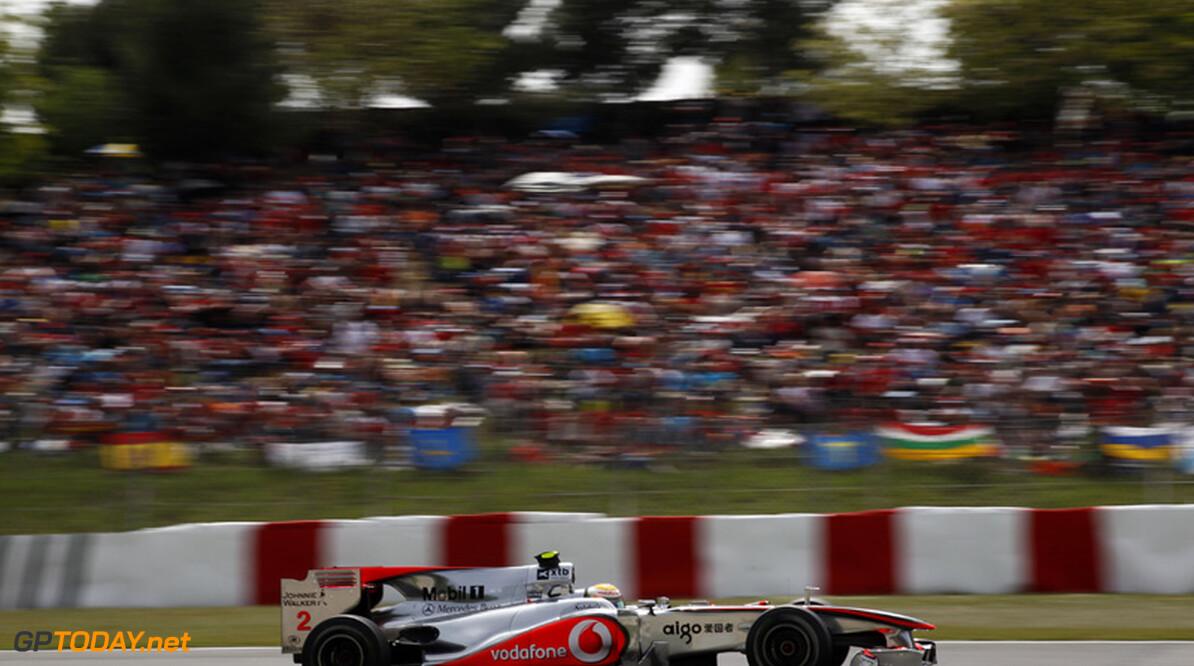 McLaren bevestigt dat velg van Hamilton het begaf