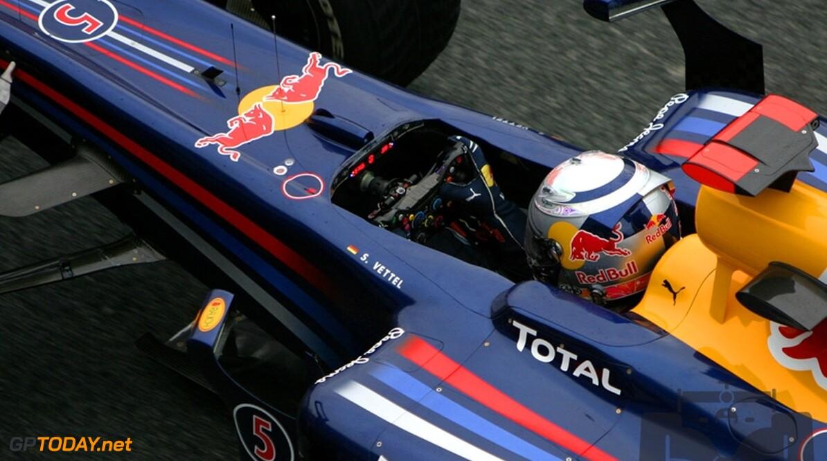 Formule 1-demonstratie Vettel op Zandvoort bij Masters of Formula 3