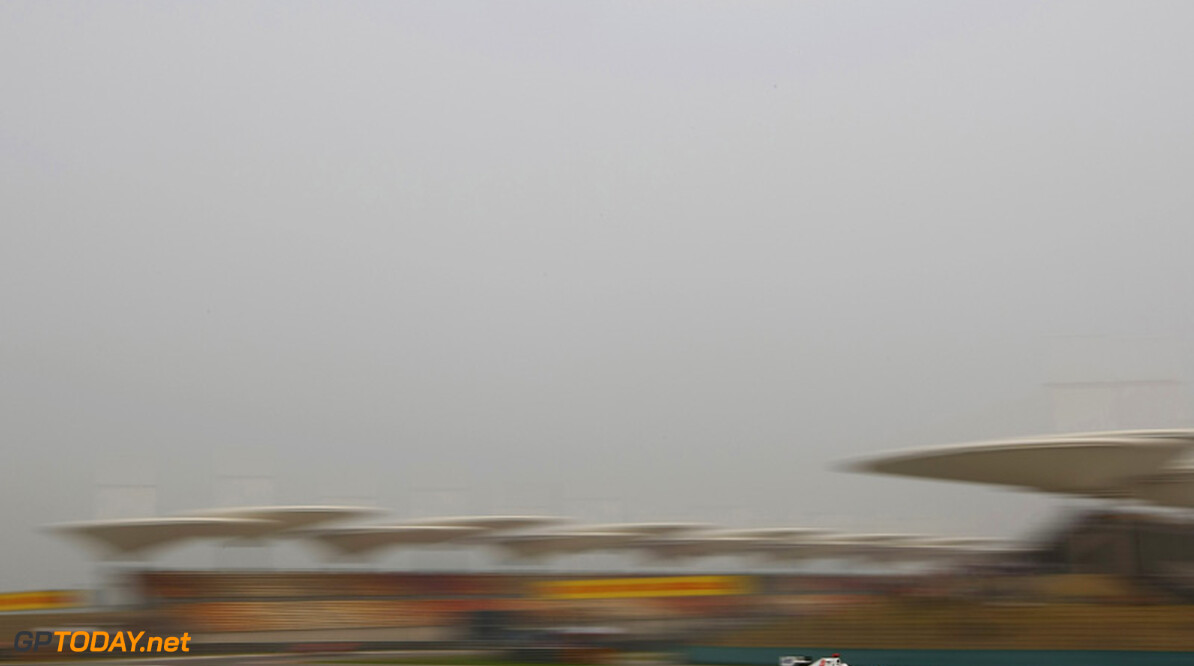 2011 Chinese Grand Prix -  Friday Shanghai International Circuit, Shanghai, China 15th April 2011 Kamui Kobayashi (JAP), Sauber F1 Team World Copyright: Andrew Hone / Formula Press / LAT Photographic