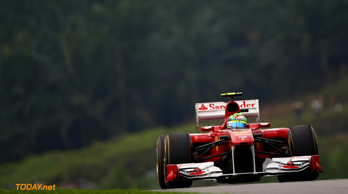2011 Malaysian Grand Prix - Saturday Sepang, Kuala Lumpur, Malaysia 9th April 2011 Felipe Massa (BRA), Scuderia Ferrari, F150 World Copyright: Andrew Hone / Formula Press / LAT Photographic
