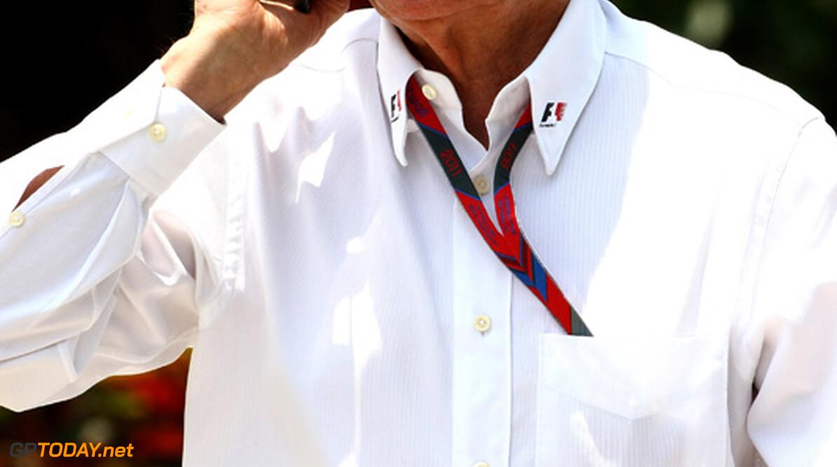 2011 Malaysian Grand Prix - Friday Sepang, Kuala Lumpur, Malaysia 8th April 2011 Bernie Ecclestone (GBR) World Copyright: Andrew Hone / Formula Press / LAT Photographic
