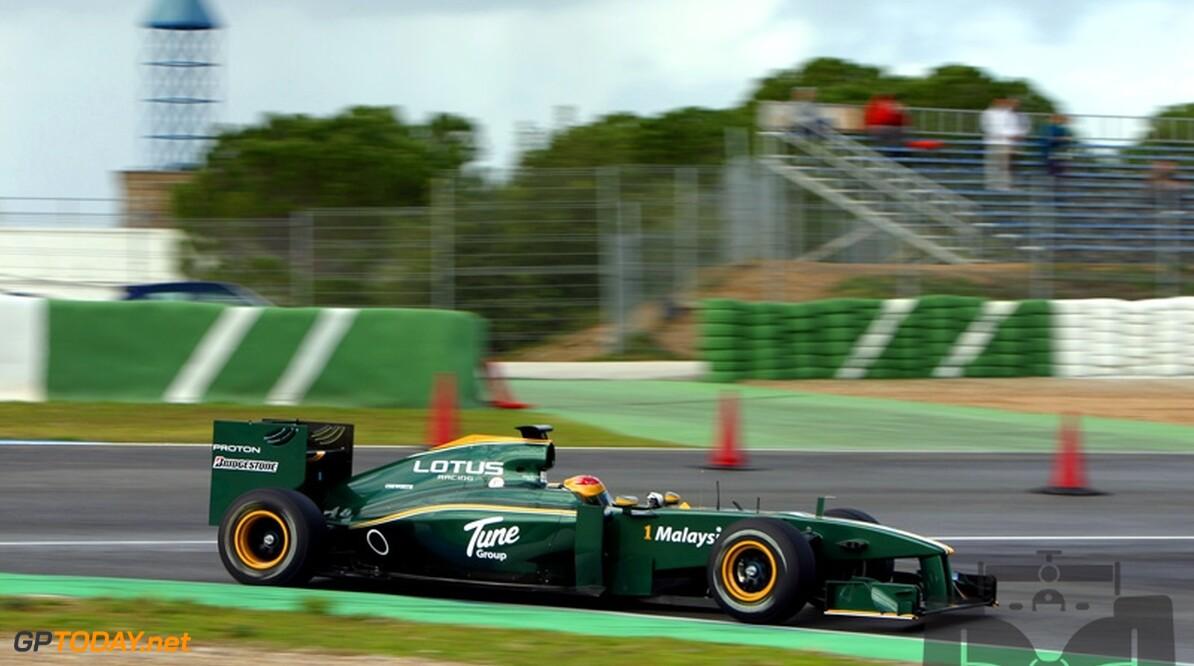 Lotus F1 Racing zeer tevreden na eerste testdag