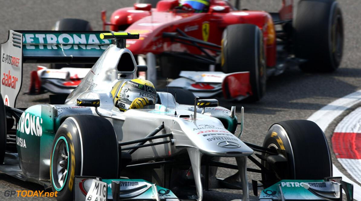 2011 Chinese Grand Prix - Sunday Shanghai International Circuit, Shanghai, China 17th April 2011 Nico Rosberg (GER), Mercedes GP World Copyright: Andrew Hone / Formula Press / LAT Photographic