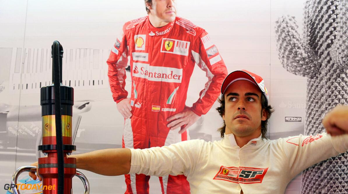 """Alonso: """"Voor de titel hebben we meer snelheid nodig"""""""