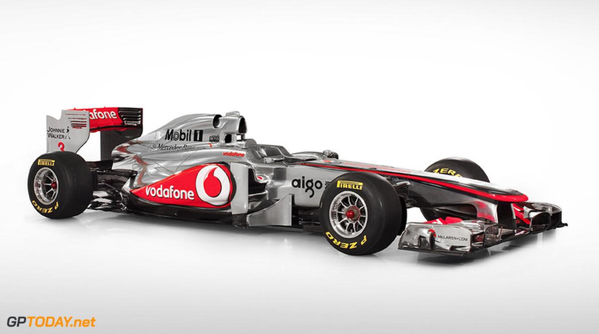 McLaren presenteert nieuwe MP4-27 voor 2012 op 1 februari