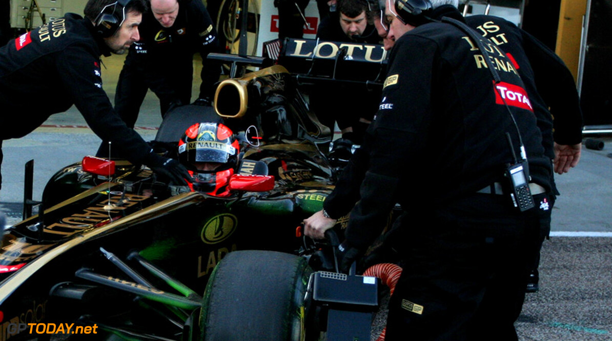 Kubica informeert Lotus Renault GP begin november over rentree