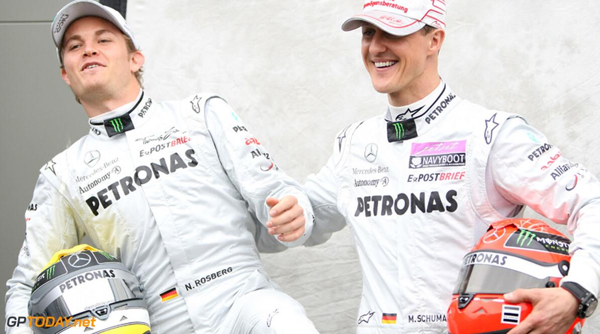 """Haug: """"Rosberg en Schumacher zijn aan elkaar gewaagd"""""""