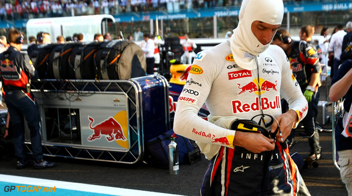 """Webber: """"Dit was misschien de laatste test in droog weer"""""""