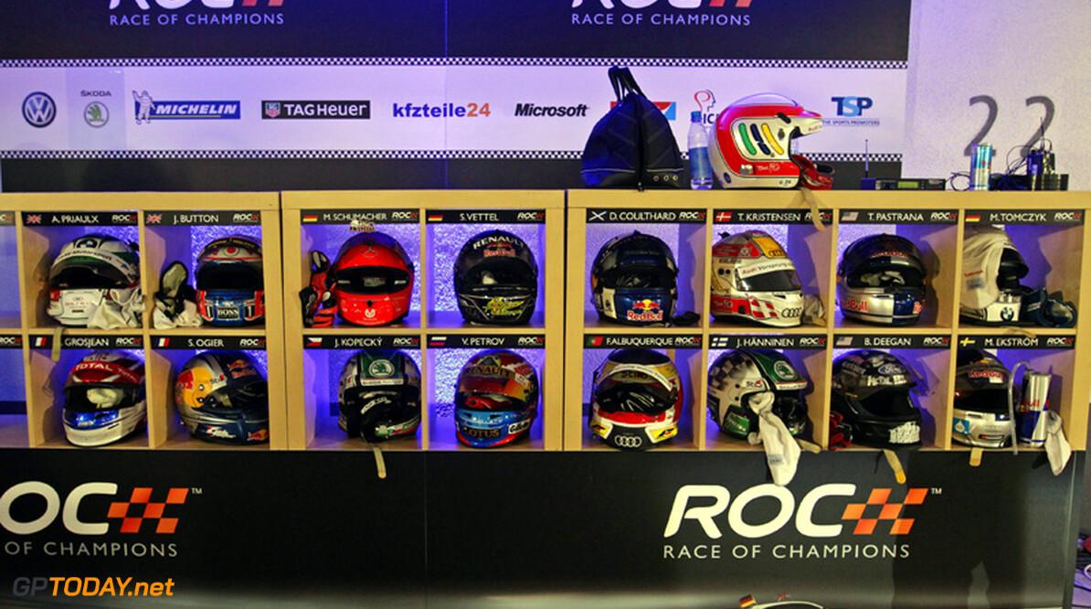 Race of Champions strikt Tom Kristensen en Andy Priaulx