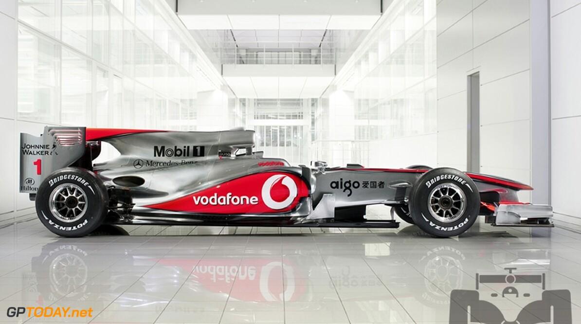 McLaren onthult nieuwe auto, de MP4-25