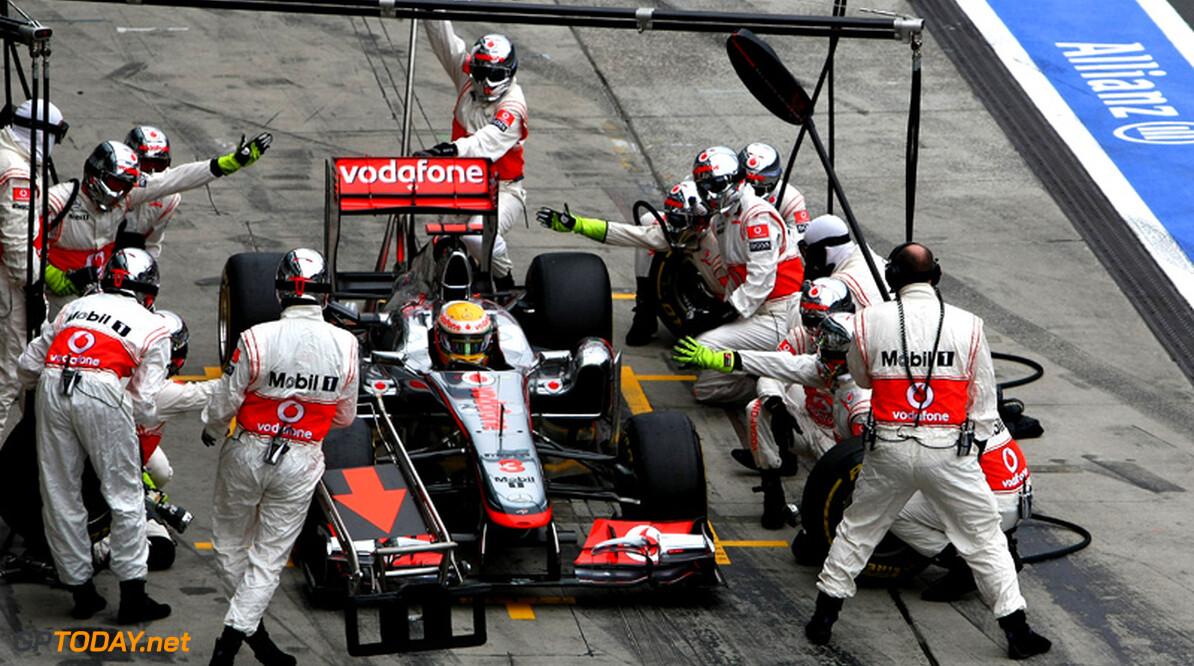 McLaren is voorwaardelijk voor testen tijdens seizoen