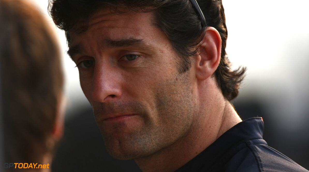 Mark Webber vanwege KERS-probleem vanaf achttiende positie