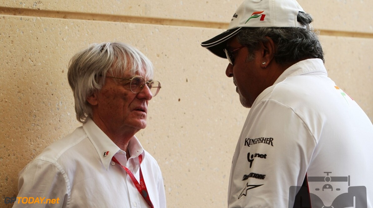 Ecclestone legt in oktober eerste steen van circuit in India