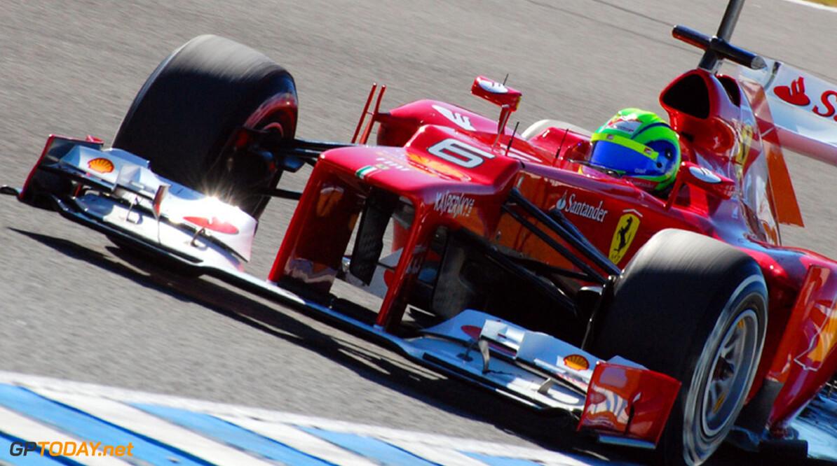"""Massa: """"Gelukkig zien we lelijke neus vanuit cockpit niet"""""""