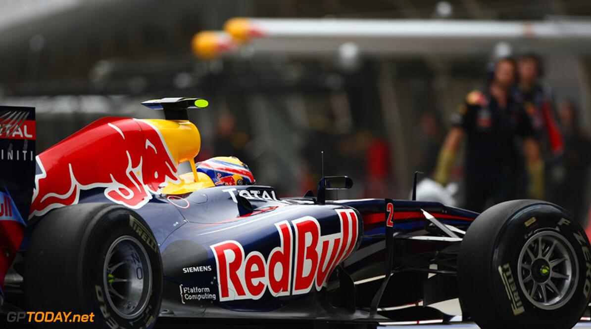 2011 Chinese Grand Prix - Saturday Shanghai International Circuit, Shanghai, China 16th April 2011 Mark Webber (AUS), Red Bull Racing World Copyright: Andrew Hone / Formula Press / LAT Photographic