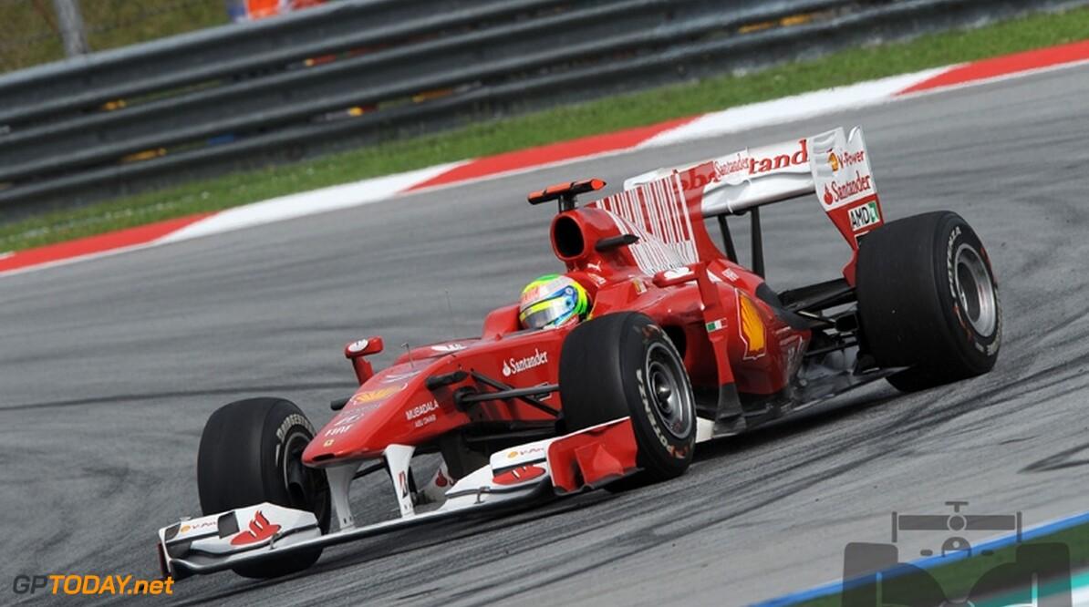 Massa in de wolken met nieuwe verbintenis bij Ferrari