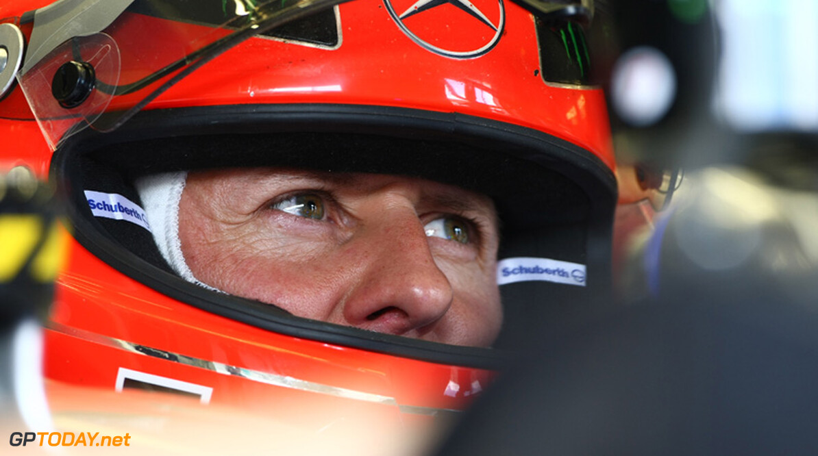 Michael Schumacher voorziet problemen met inhalen in India