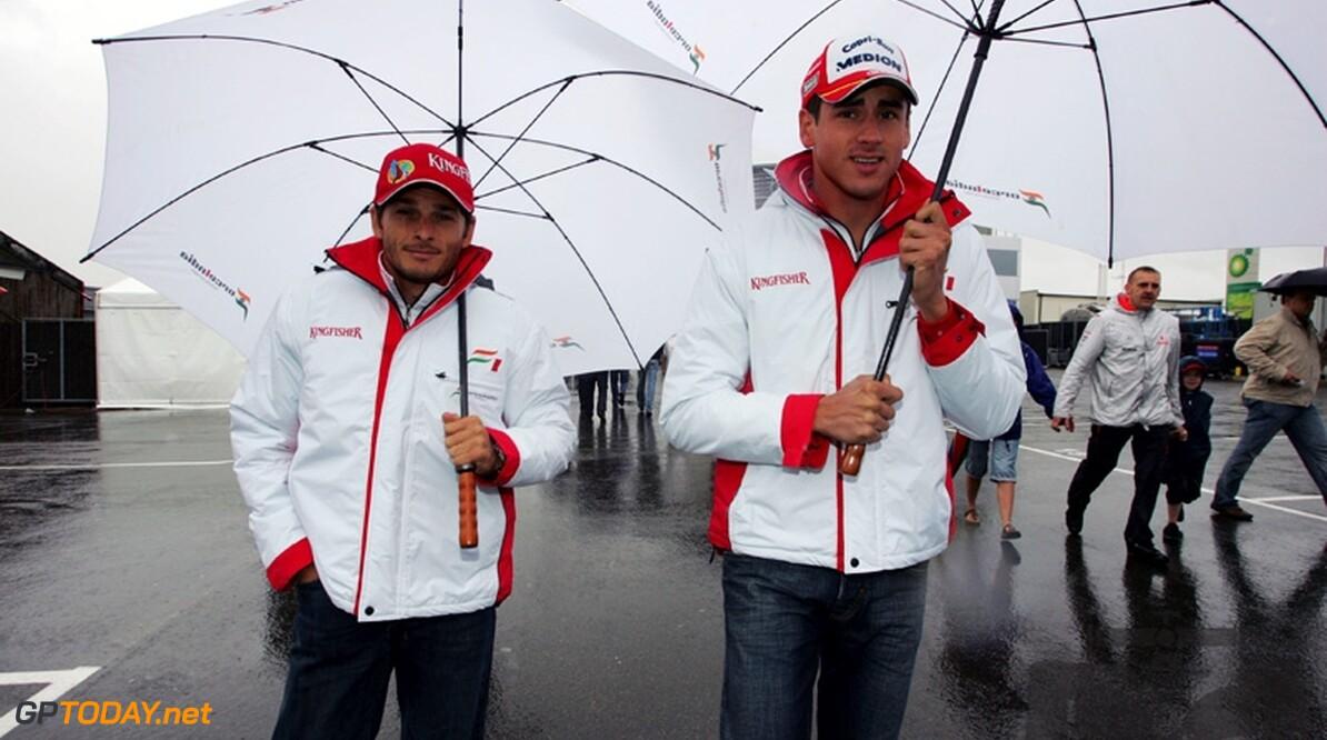 Fisichella en Sutil rijden ook in 2009 voor Force India