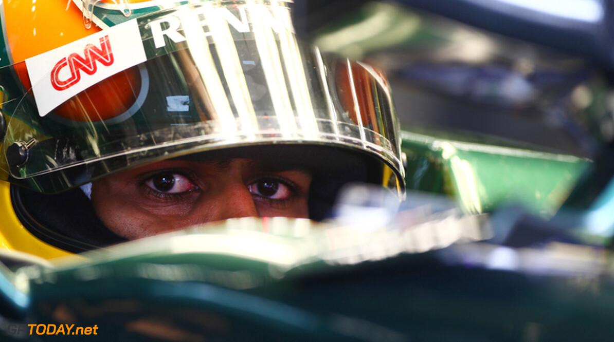 Team Lotus twijfelt over inzetten van Karun Chandhok in India