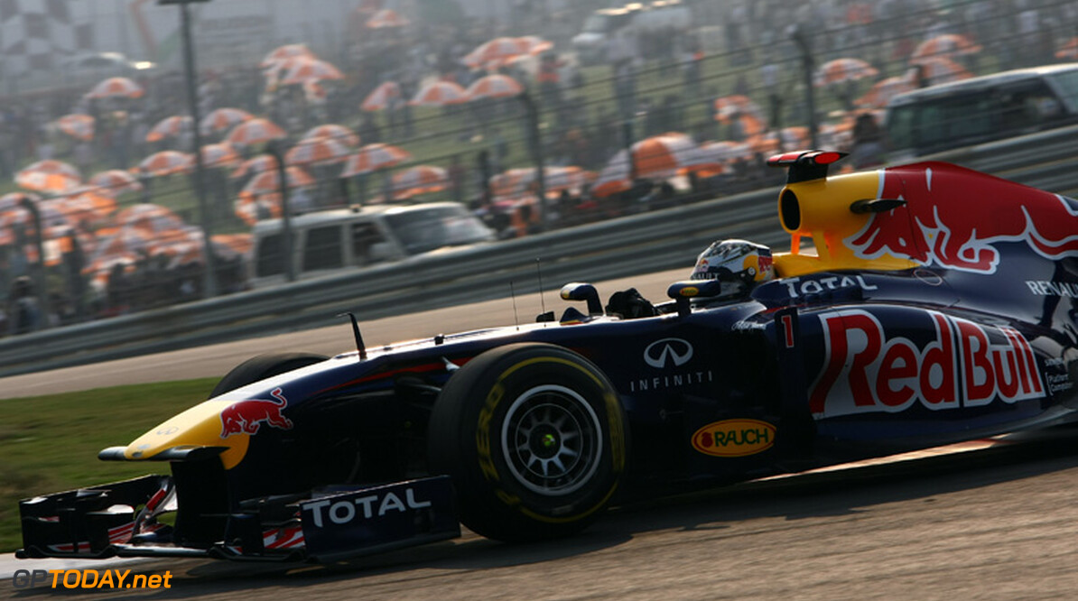 VT3: Sebastian Vettel sluit laatste vrije training af met beste tijd