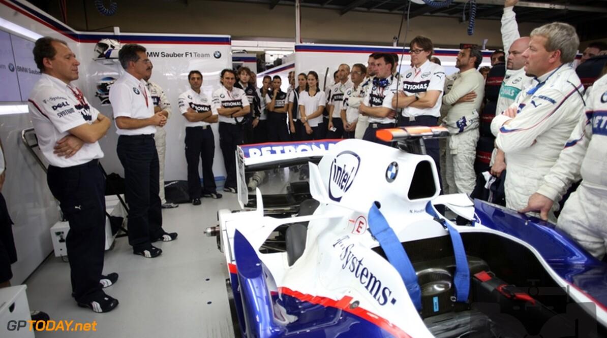 BMW Sauber werkt met vertrouwen toe naar 2009
