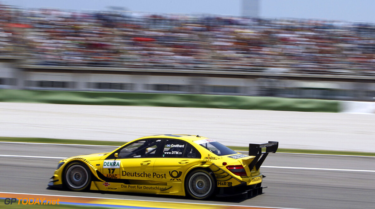 Coulthard hoopt op langer verblijf bij Mercedes in DTM