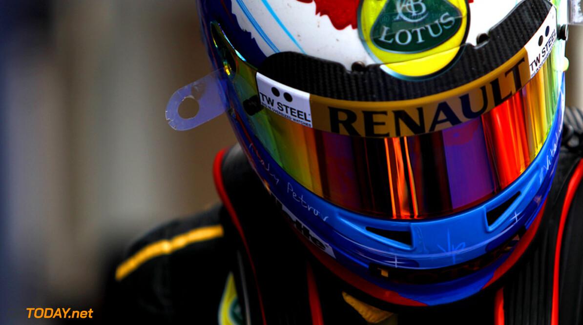 Vitaly Petrov kan mogelijk terecht bij Caterham F1 Team voor 2012