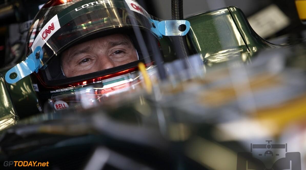 Opstartproblemen Lotus F1 Racing frustreren Trulli