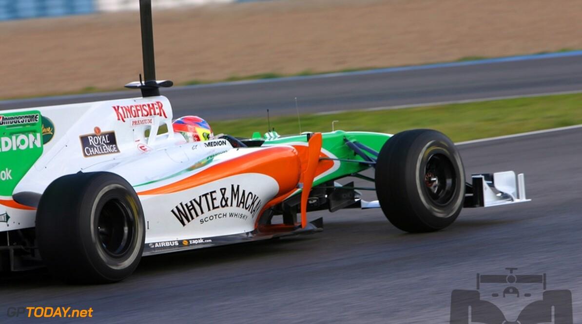 Force India zet testrijder Di Resta in Bahrein niet in