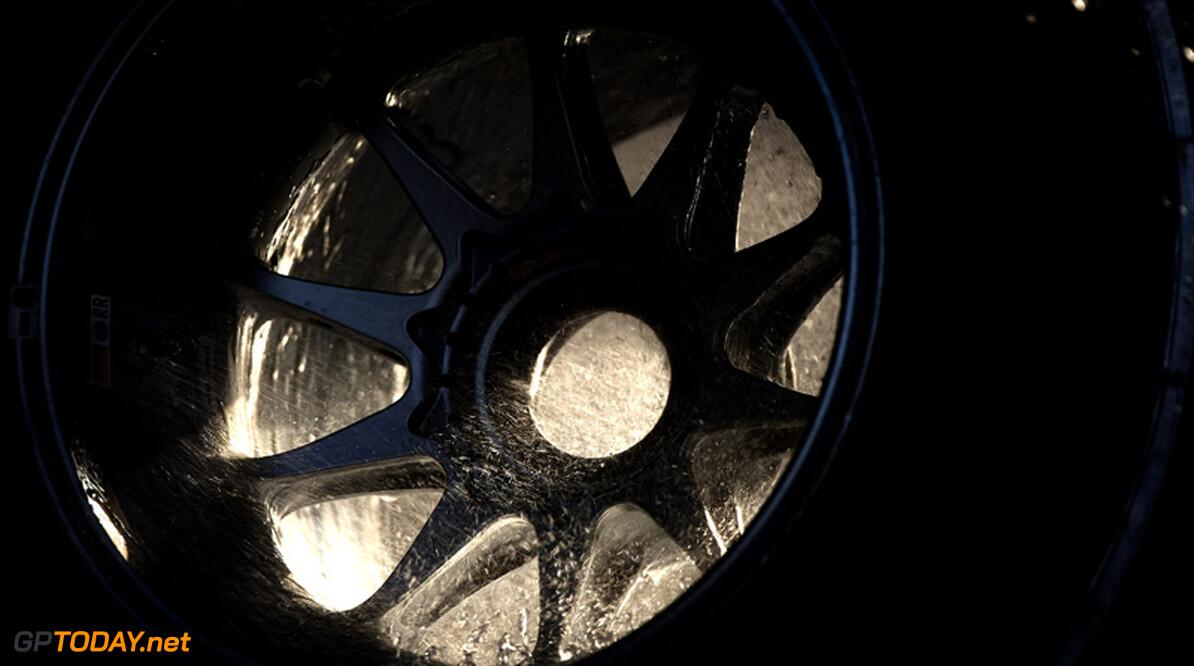 2011 Chinese Grand Prix - Saturday Shanghai International Circuit, Shanghai, China 16th April 2011 Wheel rims and Pirelli Tyres World Copyright: Andrew Hone / Formula Press / LAT Photographic
